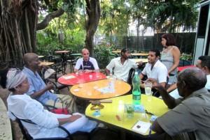 UNEAC La Habana, Cuban writers, visit Cuba