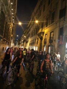 bicycling Rome