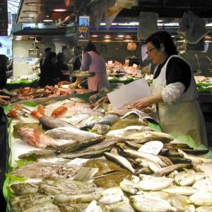 fish market Barcelona
