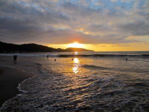beach at sunset, beautiful world