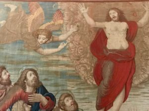 Vatican tapestry of the resurrection